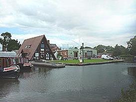 ALVECHURCH - En av våra baser för kanalbåtar i England