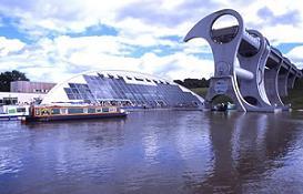 FALKIRK - En av våra baser för kanalbåtar i England