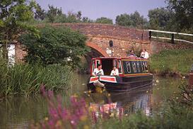 GAILEY BASE - En av våra baser för kanalbåtar i England