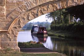 WHITCHURCH MARINA - En av våra baser för kanalbåtar i England