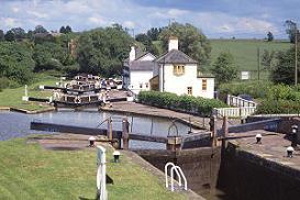 WORCESTER MARINA - En av våra baser för kanalbåtar i England