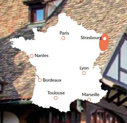 Alsace - En av våra baser för kanalbåtar i Europa
