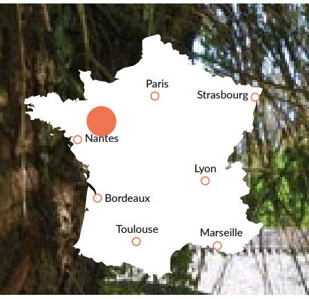 Anjou - En av våra baser för kanalbåtar i Europa