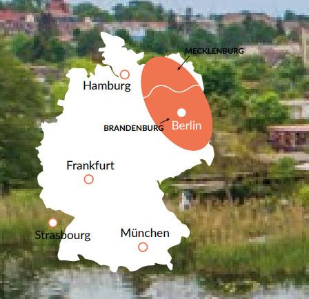Berlin & Brandenburg - En av våra baser för kanalbåtar i Europa