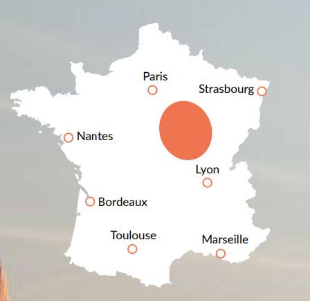 Bourgogne - En av våra baser för kanalbåtar i Europa