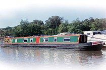 Bild på Bunting kanalbåt i England