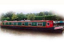 Bild på Eagle kanalbåt i England