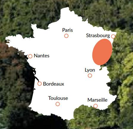 Franche-Comté - En av våra baser för kanalbåtar i Europa
