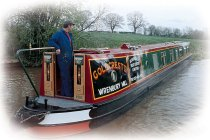 Bild på Goldcrest kanalbåt i England
