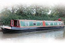 Bild på Heron kanalbåt i England