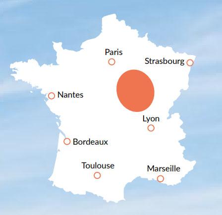 Loire / Nivernais - En av våra baser för kanalbåtar i Europa