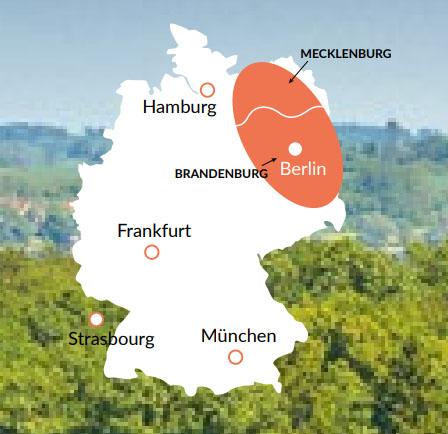 Mecklenburg - En av våra baser för kanalbåtar i Europa