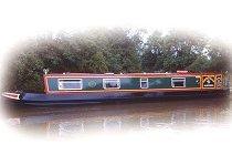Bild på Weaver Class kanalbåt i England